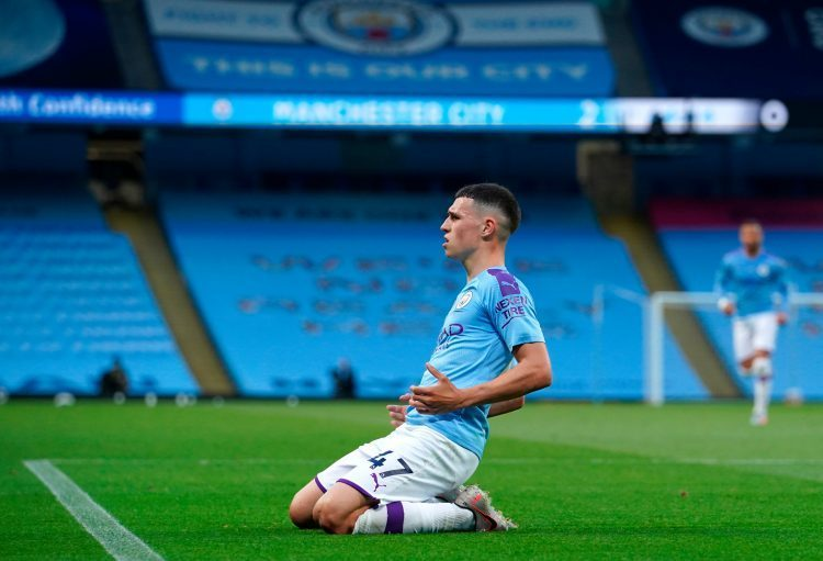 Foden put in an excellent performance against the champions