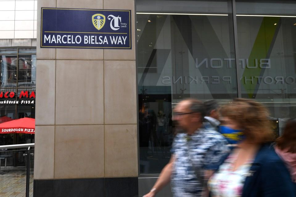 A street in Leeds has already been named in Bielsa's honour