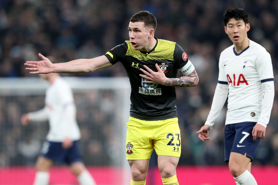 Hojbjerg underwent a Spurs medical on Monday