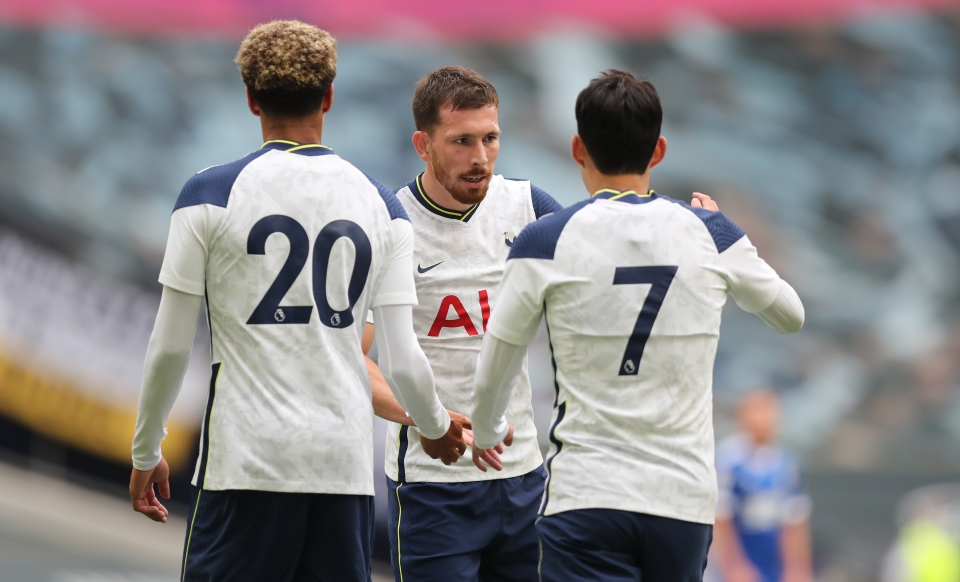 Spurs came off 3-0 winners against the League One side
