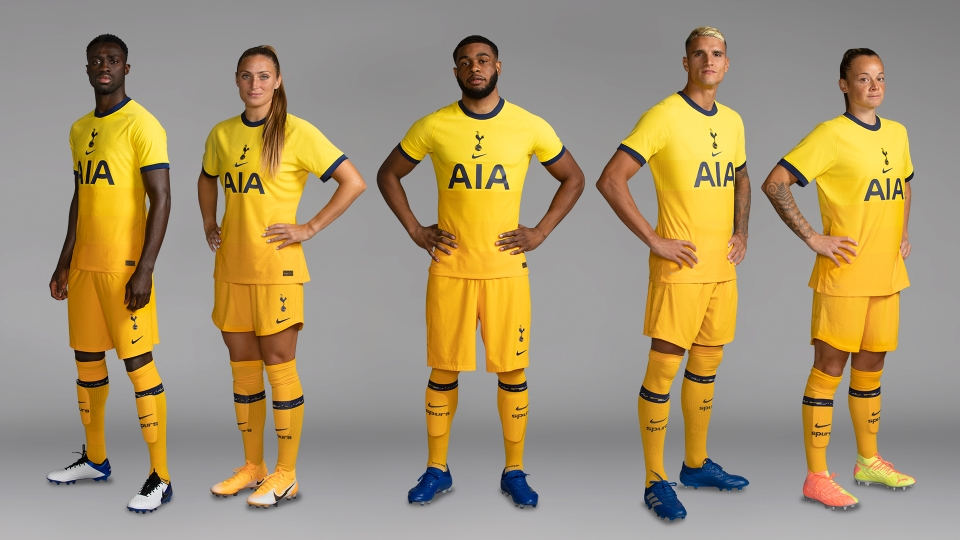 The new third kit was released today