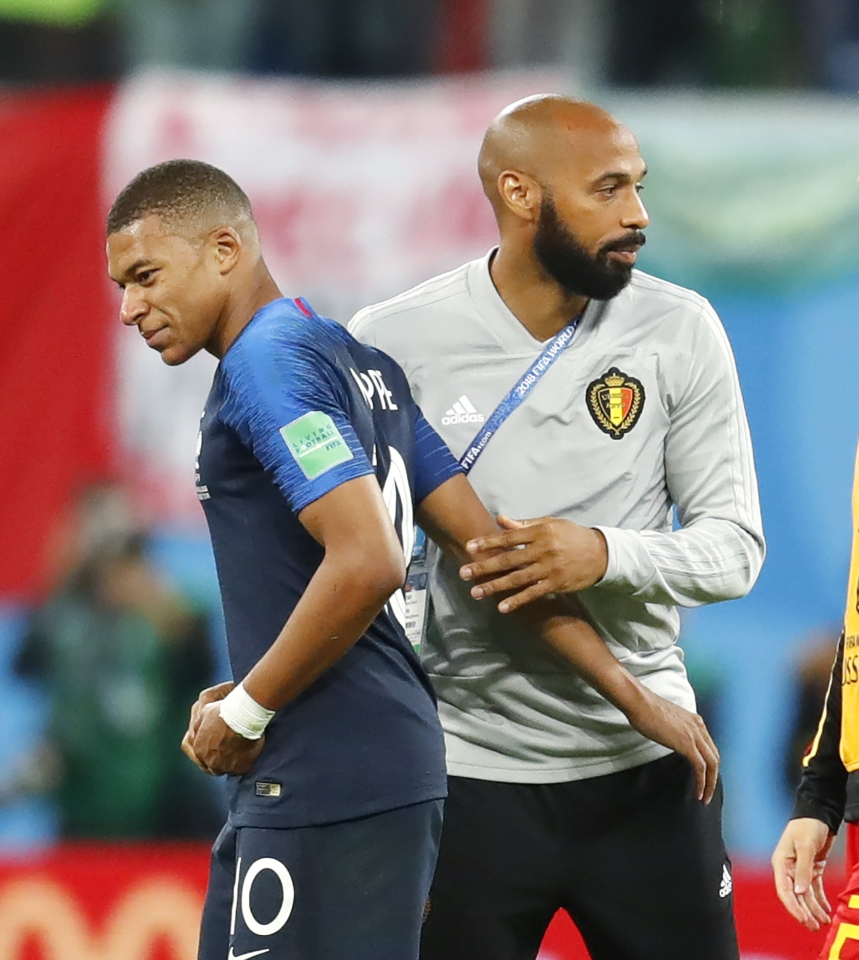 The past and future of France's attacking line