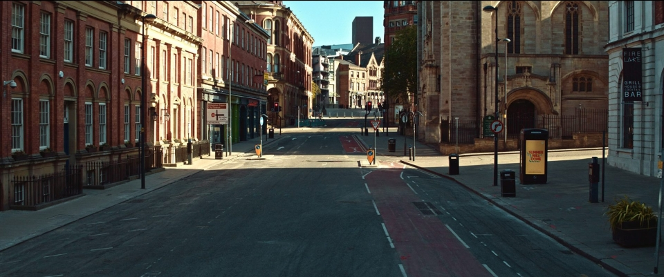 Leeds during the height of lockdown
