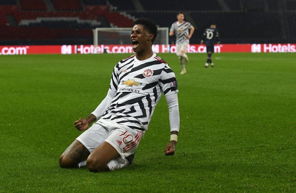 We're backing Marcus Rashford to net against PSG again this season