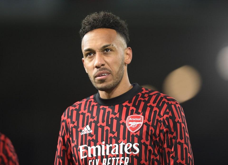 Arsenal skipper Pierre Emerick Aubameyang is fired up