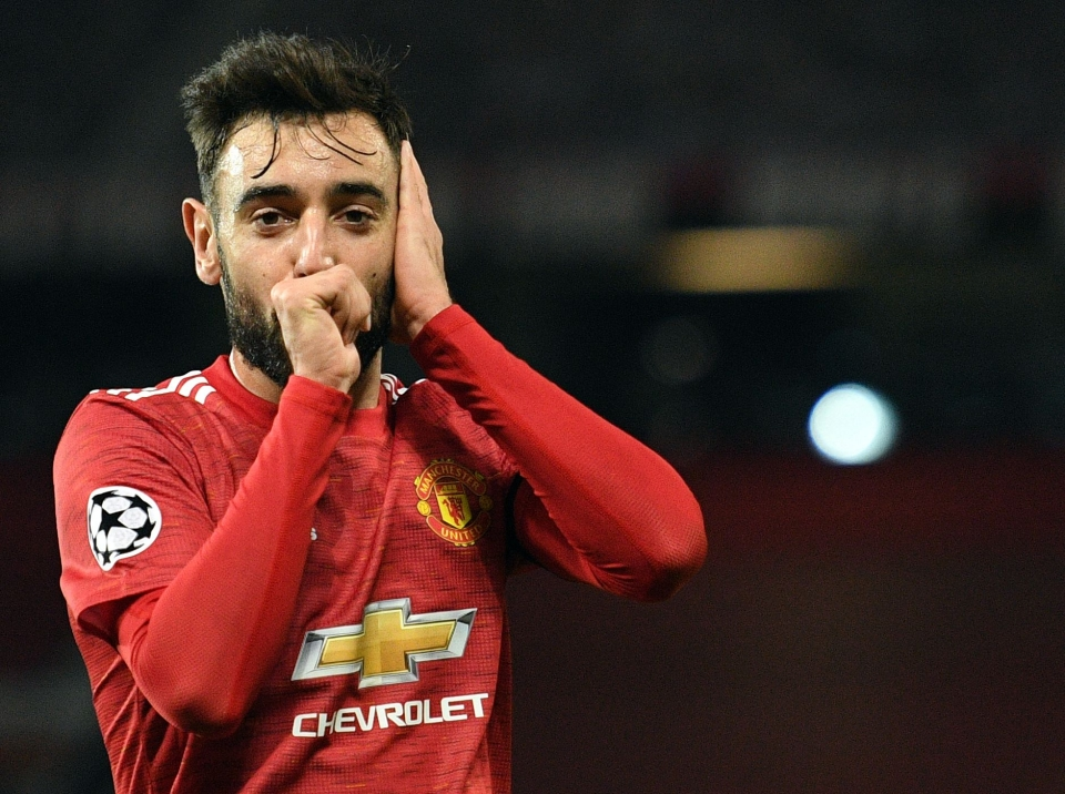 Bruno Fernandes is United's joint-top scorer this season