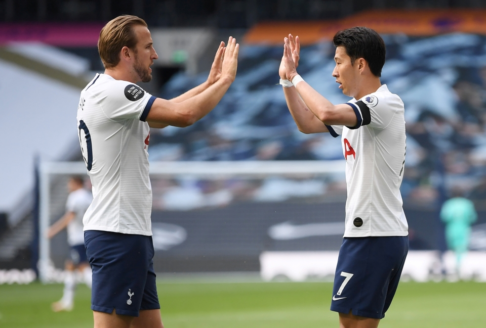 Harry Kane and Son Hueng-min are a dangerous double act