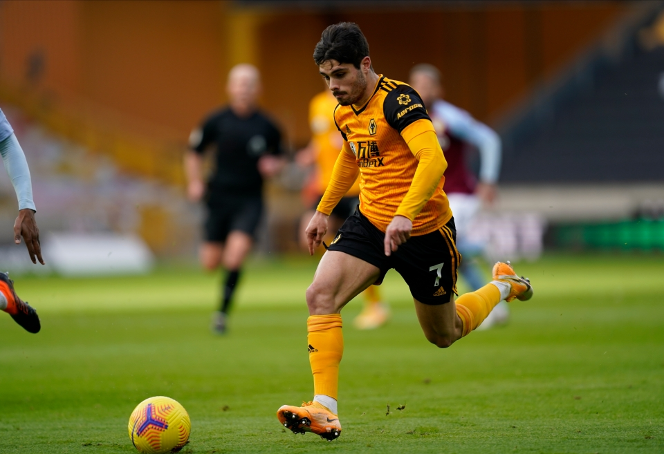 Wolves' Portuguese player… well, one of them