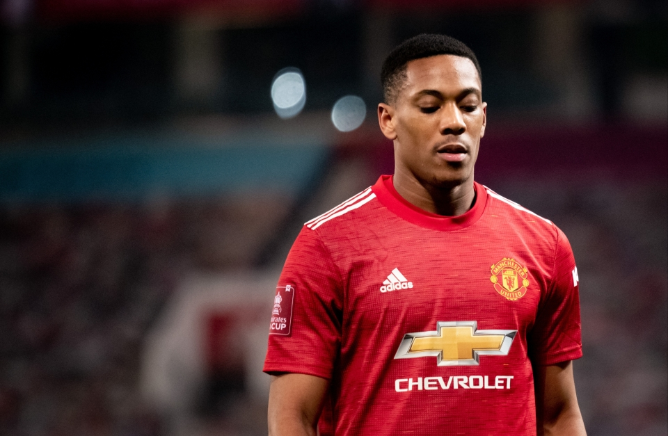 Anthony Martial is expected to return tonight