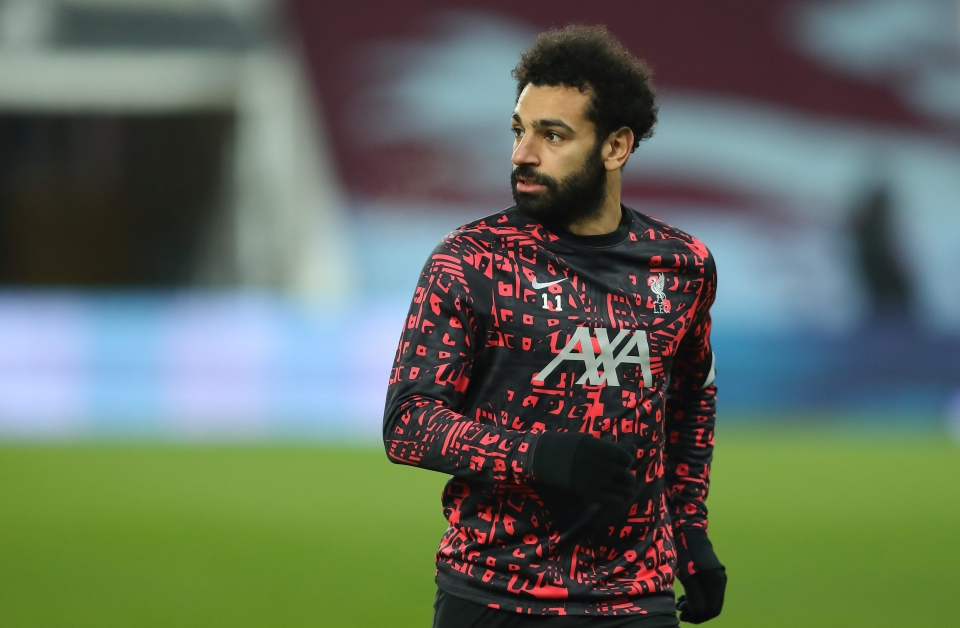Liverpool star Mohamed Salah has scored 17 goals in 25 appearances this season