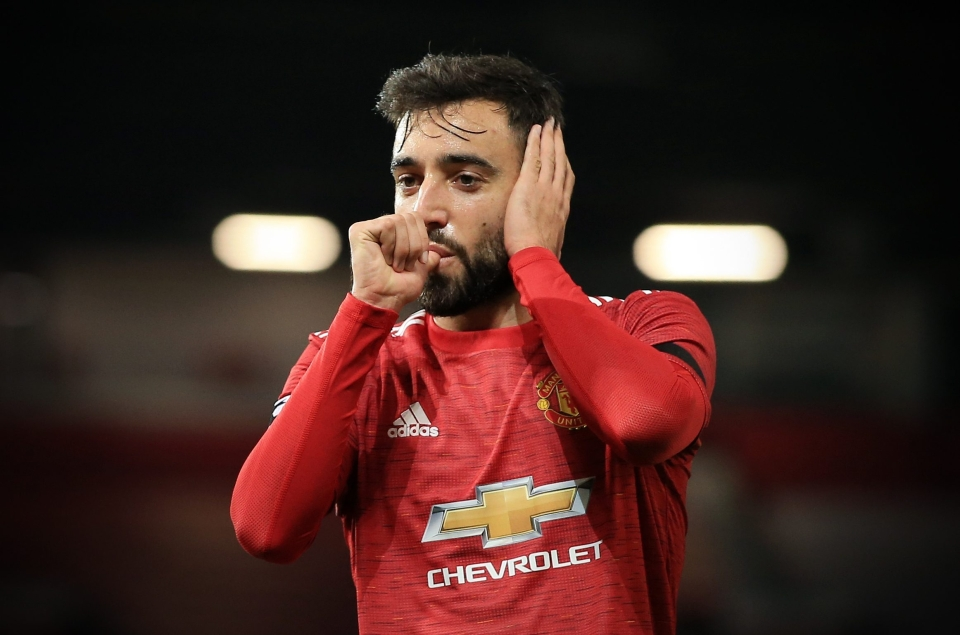 Bruno Fernandes has scored 15 goals and provided nine assists this season
