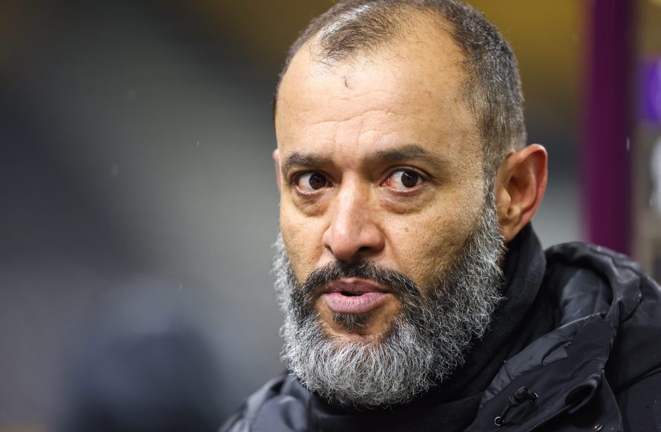 Wolves boss Nuno Espirito Santo is looking for a win over Everton tonight