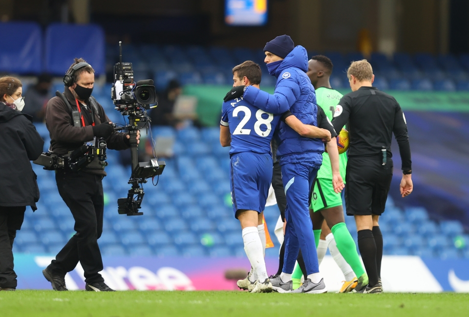 Chelsea managers invariably trust Azpilicueta not to let them down