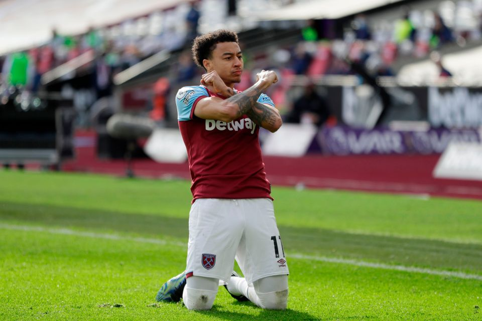 Lingard looks at home at West Ham