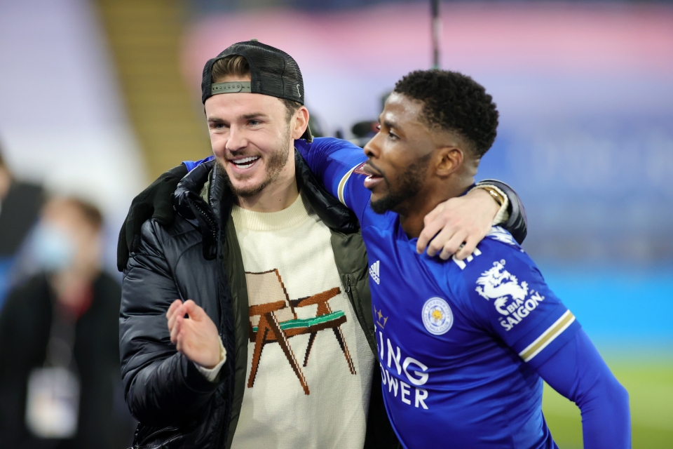 Distracted by James Maddison's jumper