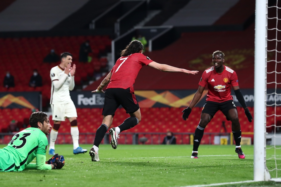 Man United thrashed Roma with an emphatic second-half display