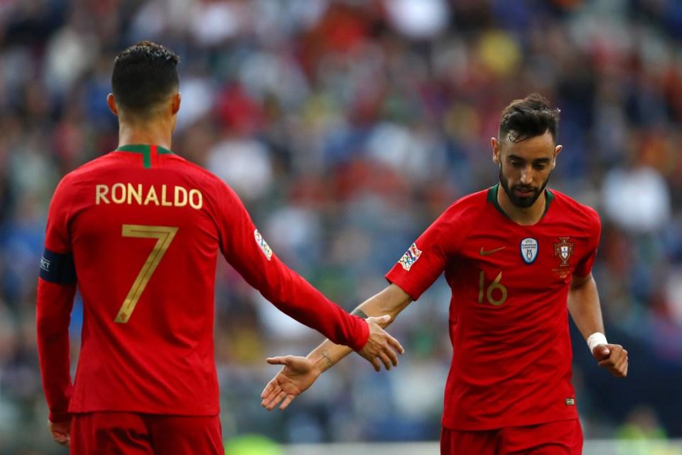 Fernandes + Ronaldo = danger
