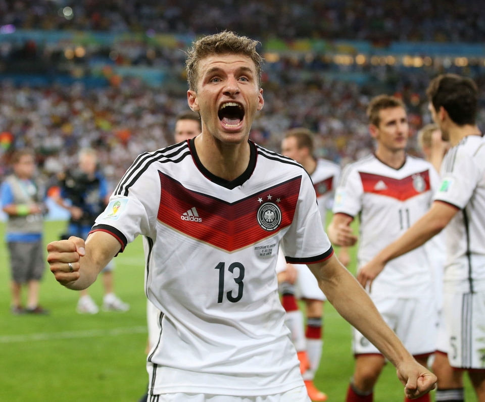2018 aside Muller has an excellent record in major tournaments