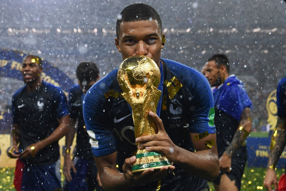 Mbappe has already excelled on a big international stage