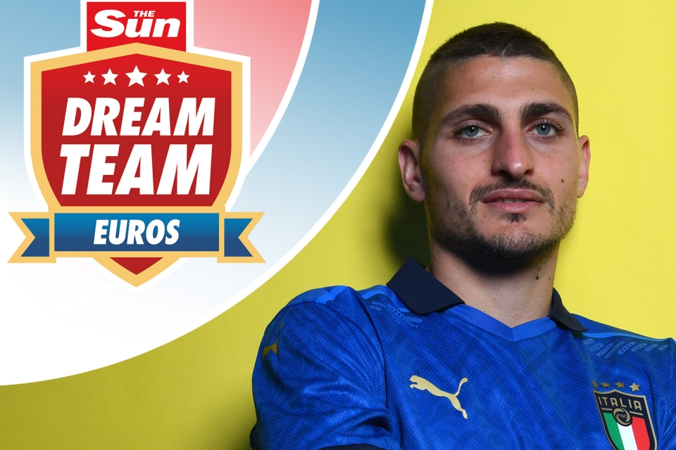 Marco Verratti is a doubt for Italy's opener with Turkey on Friday