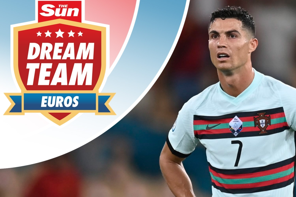 Ronaldo remains the top points scorer in Dream Team Euros but he won't be adding to his tally of 49 points