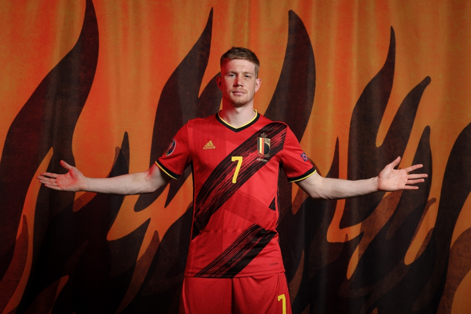 Belgium's Kevin De Bruyne is unlikely to feature against Russia on Saturday