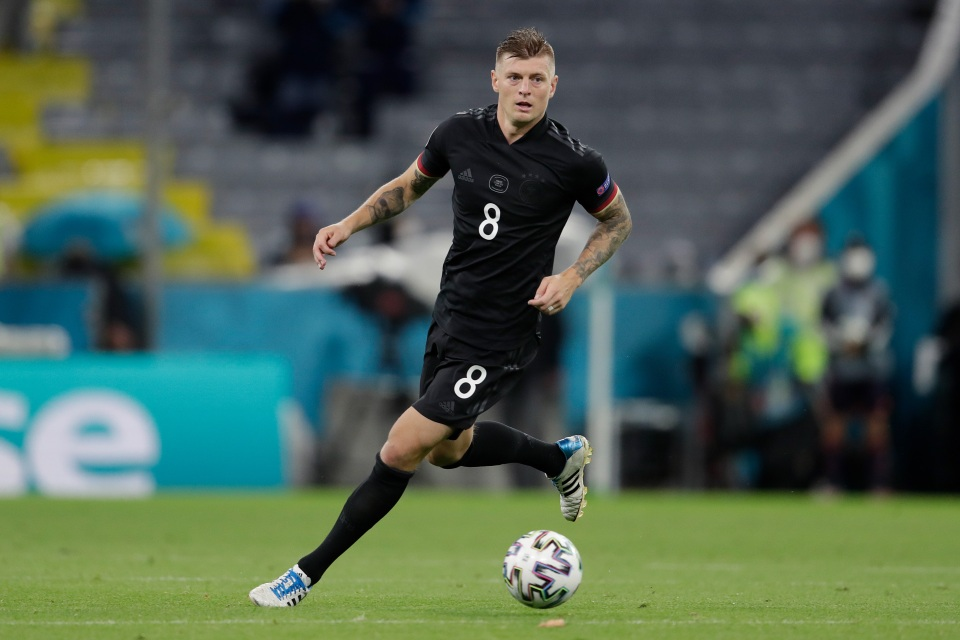 Kroos has the attributes to dictate the game at Wembley