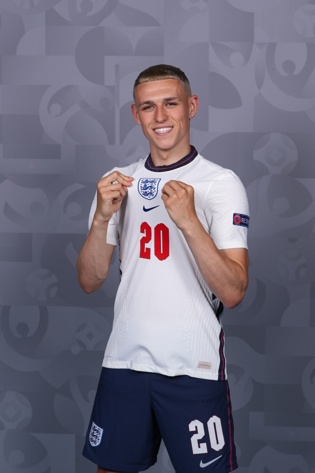 Will Foden by England's inspirational figure this summer?