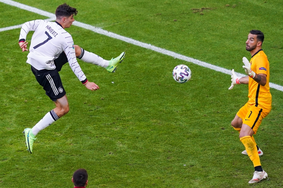 Havertz starred against Portugal in an impressive 4-2 win for Germany