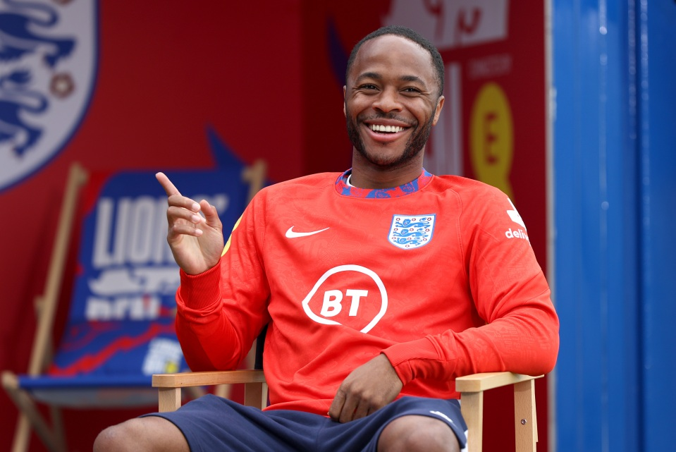 Sterling has scored both England's goals at Euro 2020