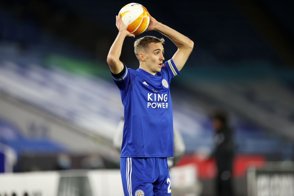 Castagne produced more attacking returns than any other Leicester defender