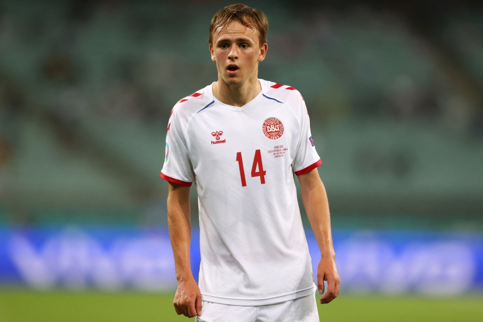 Damsgaard has replaced Christian Eriksen in the starting line-up and has done exceptionally well