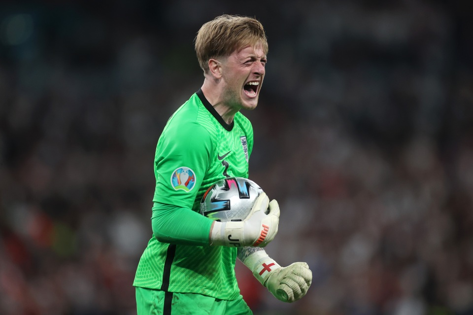 Pickford excelled at Euro 2020