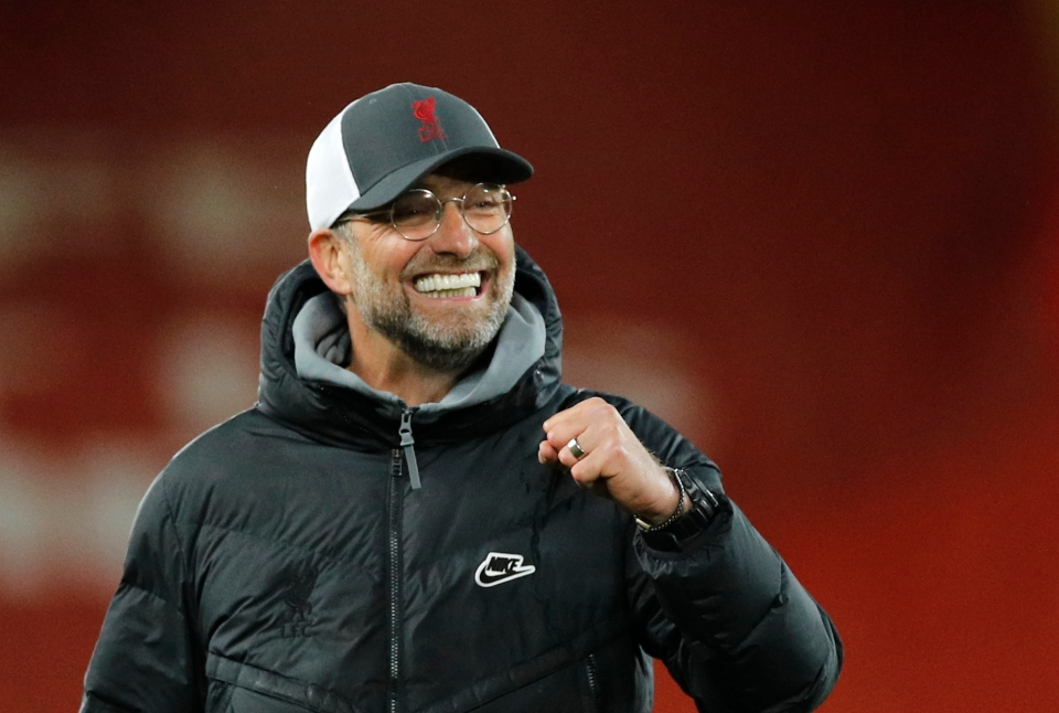 Klopp will be hoping his side can revive their 2019/20 vintage