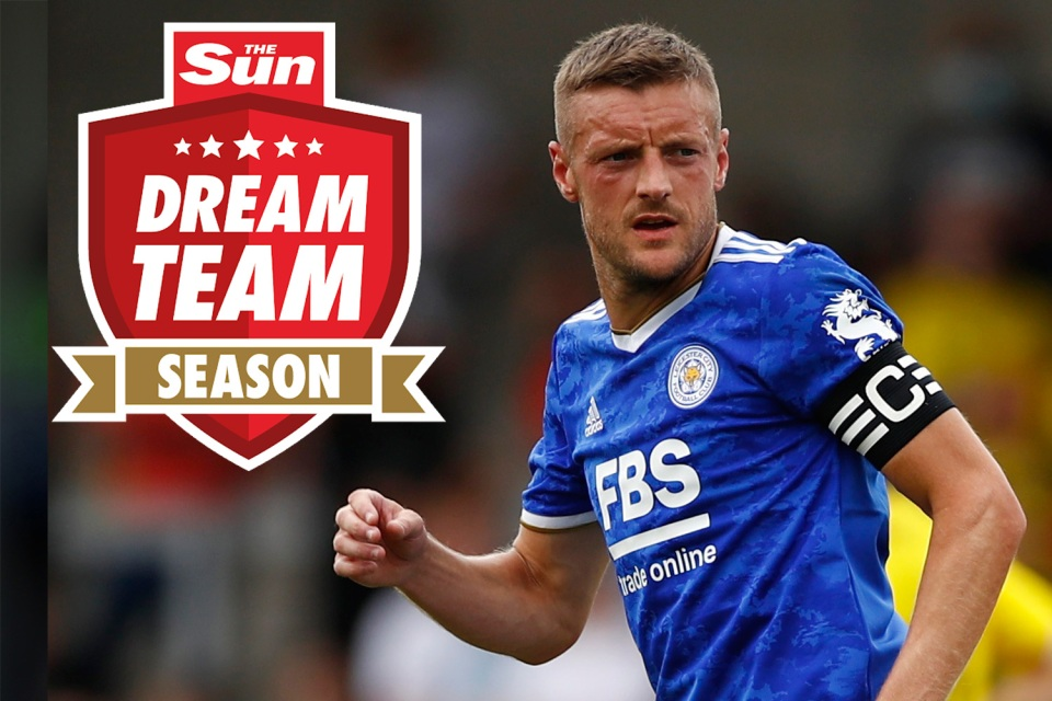 Dream Team gaffers are heavily backing Vardy ahead of the new season