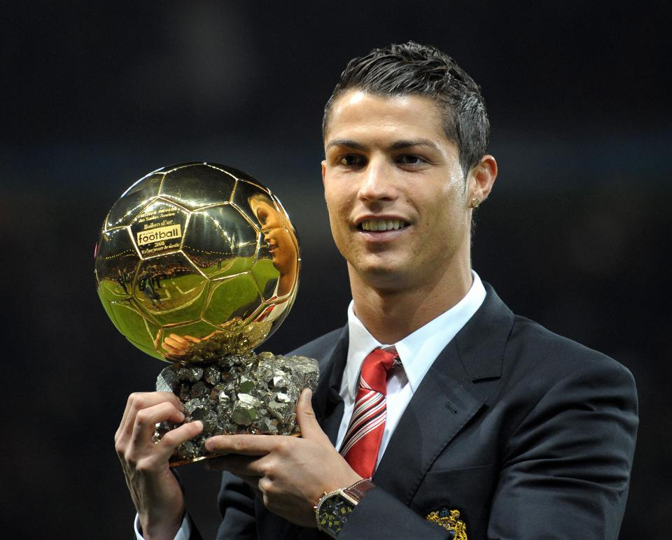 Ronaldo was undoubtedly the best player in the world in 2008