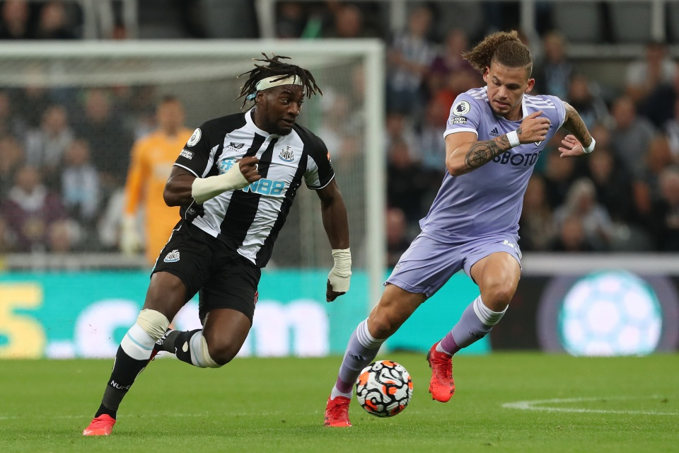 Saint-Maximin was at the heart of everything Newcastle did well against Leeds