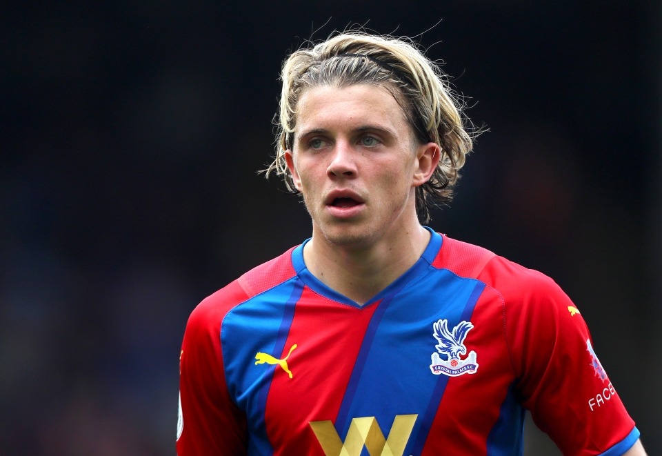 Gallagher has arguably been Crystal Palace's best player so far this season