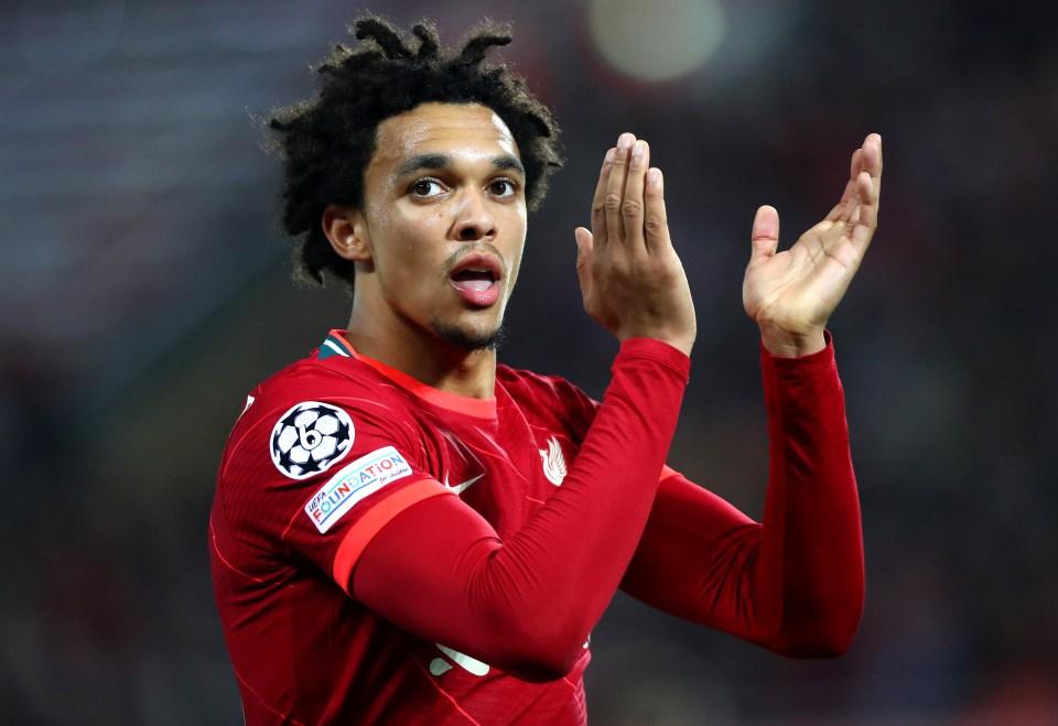 Alexander-Arnold should start for Liverpool at Brentford