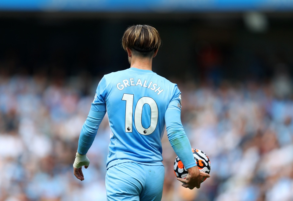 Grealish has a goal and an assist to his name after three league appearances for City