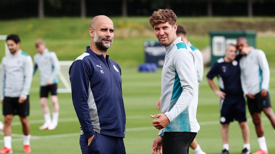 Guardiola has deemed Stones surplus to requirements this season