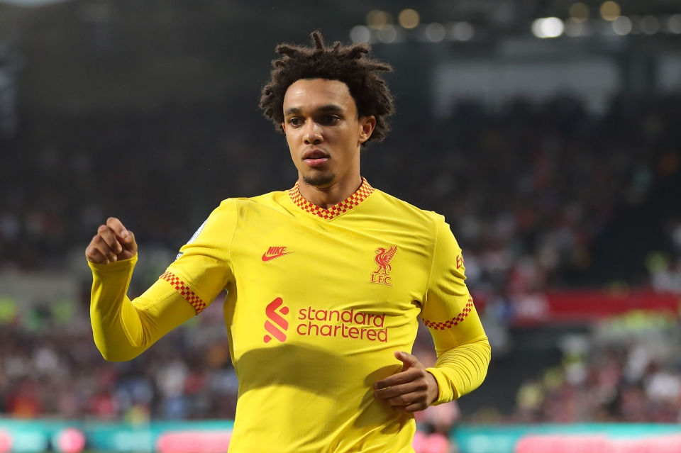 Alexander-Arnold is yet to show the same form for England as he has for Liverpool
