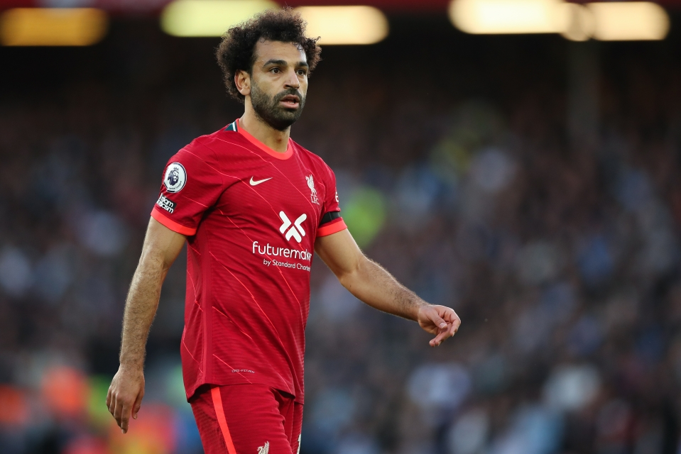 Liverpool's Mohamed Salah bagged a goal and an assist against Man City