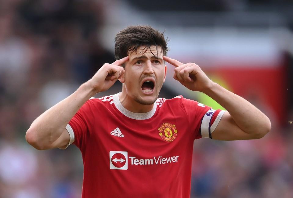 Man Utd are hopeful Harry Maguire will return after the international break
