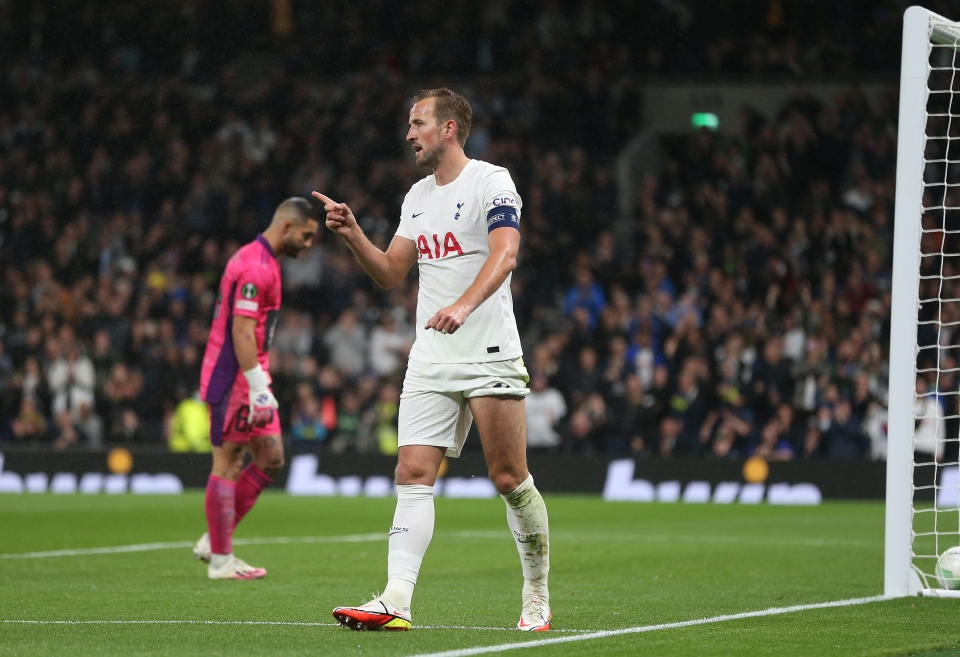 Kane is almost certainly the biggest name in the Europa Conference League